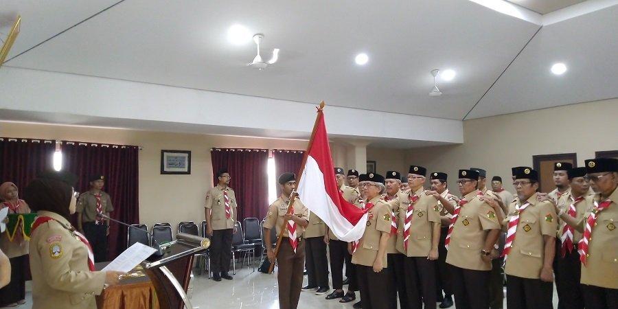 Ketua Kwarda DKI Jakarta Lantik Kepengurusan Sakoda SPN DKI Jakarta