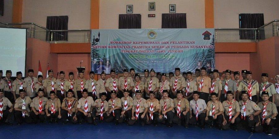 SAKO SPN Provinsi Jawa Tengah Siapkan Generasi Emas Bangsa